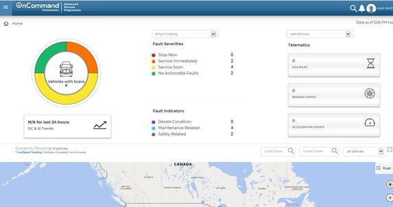 K12 Telematics Dashboard Preview