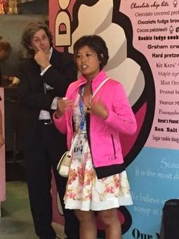 Kajeet ISTE Ice Cream Social: Diane Doersch