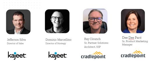LTE Failover Cradlepoint Webinar - Speakers