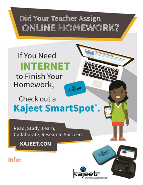 smartspot school internet poster