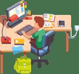 student homework access