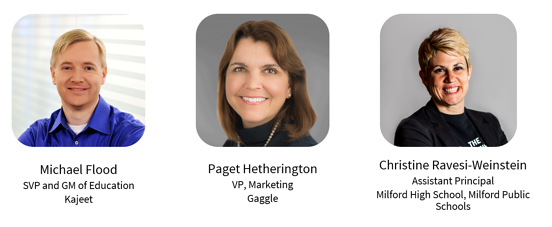 gaggle webinar speakers